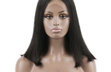 Brazilian Virgin Hair Straight Full Lace Bob Wigs