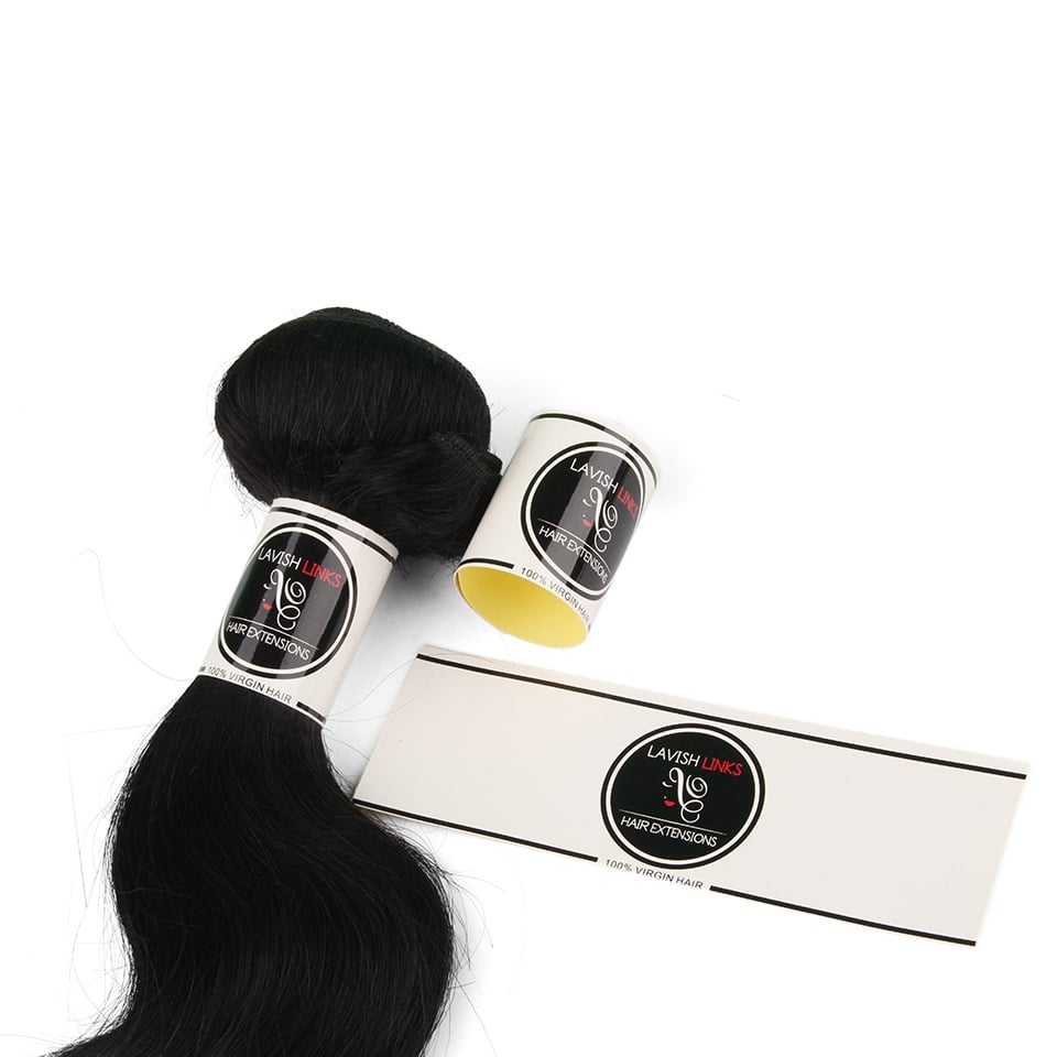 Custom Wraps For Hair Bundles