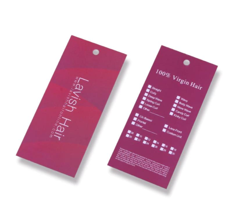 Custom Tags For Hair Extensions