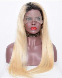 1b/613 Bleach Blonde Lace Front Wigs